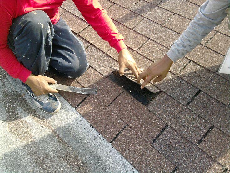 Ремонт крыши из мягкой черепицы